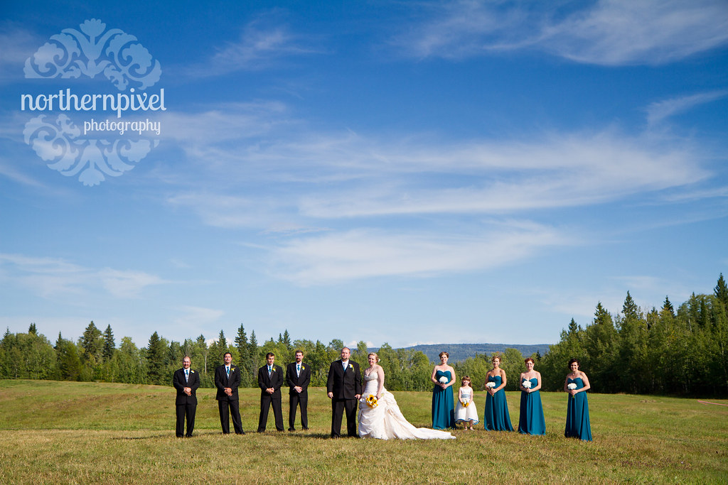 Bridal Party - Prince George British Columbia Wedding