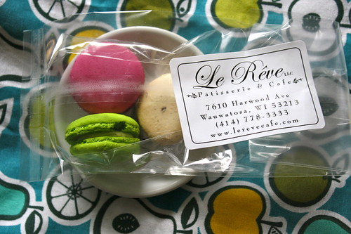 Le Reve macarons