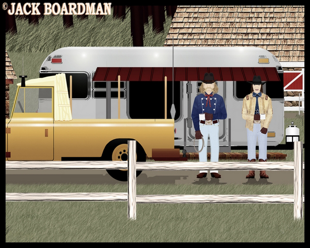 Jim Hickok reported to Susie ©2012 Jack Boardman