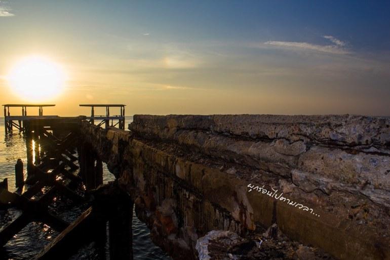 สะพานชำรุด - ทะเลปราณบุรี