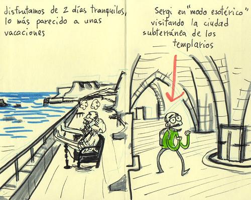 Palestine Sketchbook #26 - Acre