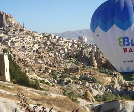 Cappadocia and hot-air balloons