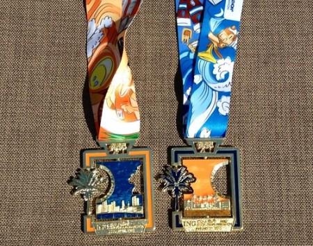 Medallas Maraton de Miami 2013