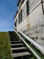 Gatehouse steps