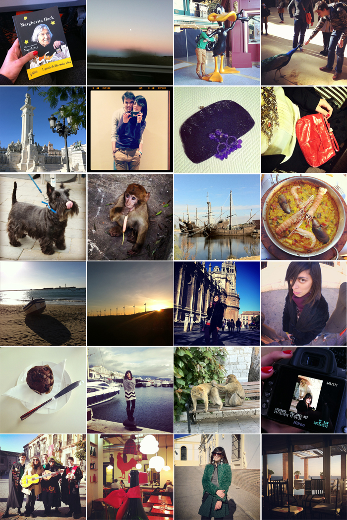 Instagram of an Andalusia\'s week