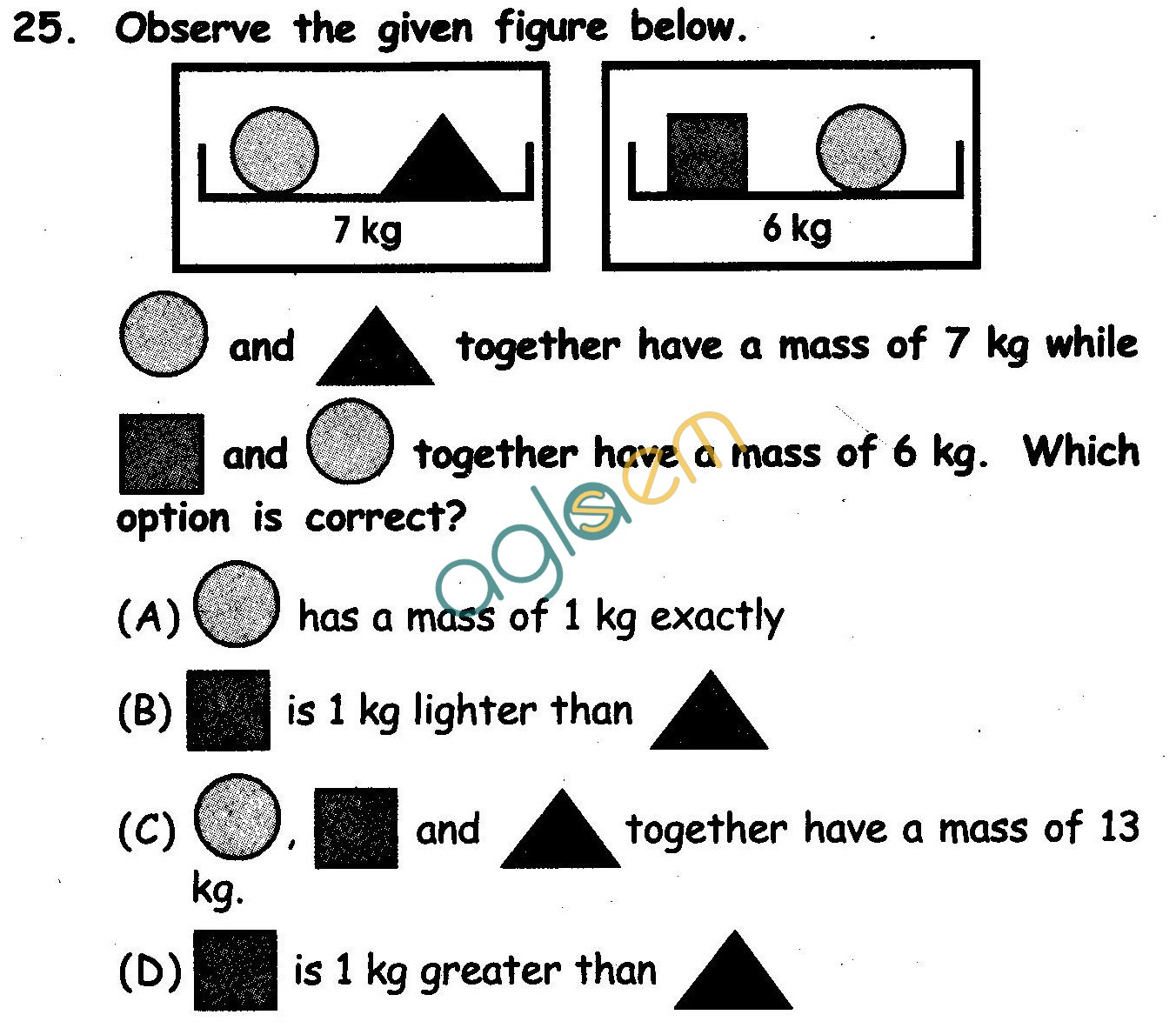 NSTSE 2011 Solved Question Paper for Class II