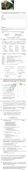 CBSE Board Exam 2013 Sample Papers (SA1) Class IX - English Communicative