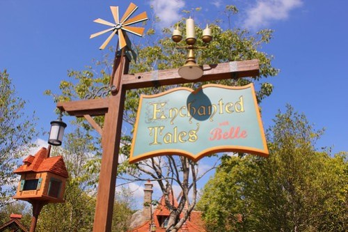 Enchanted Tales with Belle in New Fantasyland