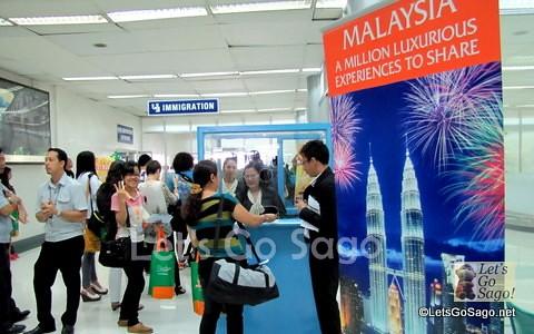 Check-in at NAIA Terminal 4