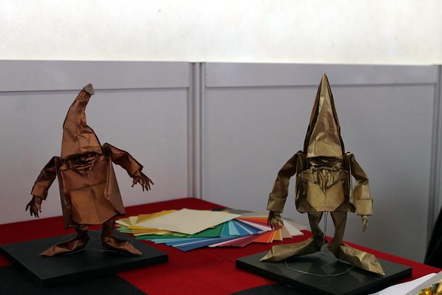 Origami gnomes