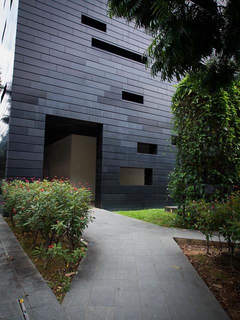 The back entrance