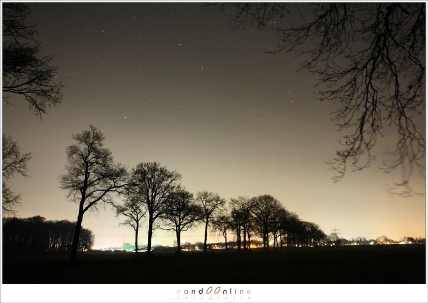 Sterrensporen fotograferen - deel 1 - lichtvervuiling in Nederland