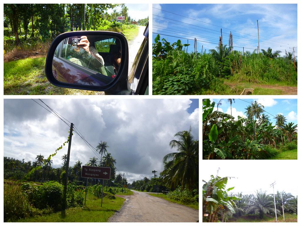 Road to Tip of Borneo