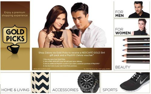 ZALORA NESCAFE GOLD PICKS
