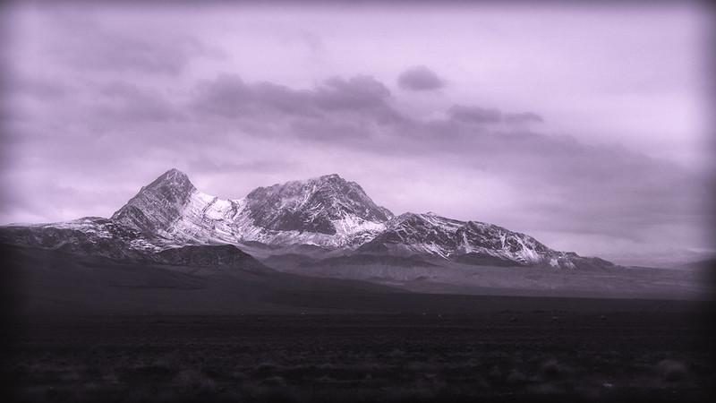 Part of the Zagros mountain range in Central Asia. (Kamo Photos)