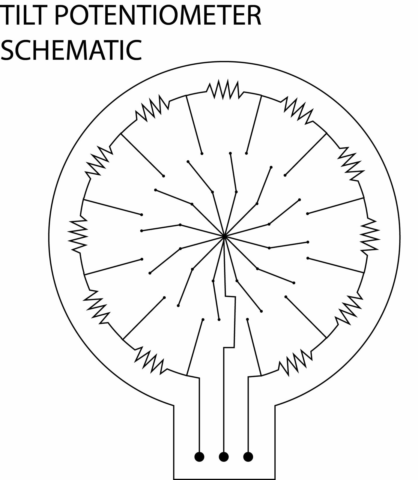 Potentiometer Symbol
