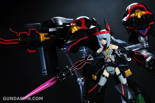 Armor Girls Project Laura Bodewig Schwarzer Regen Infinite Stratos Unboxing Review (62)
