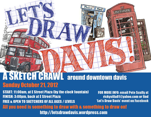let's draw davis october 2012