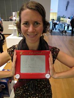 Etch-A-Sketch Emily