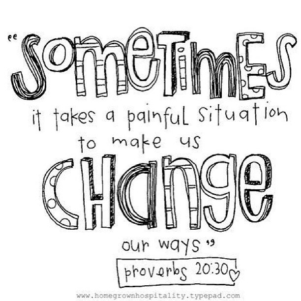 #painful #change #bible #doodle #drawing #quotes #