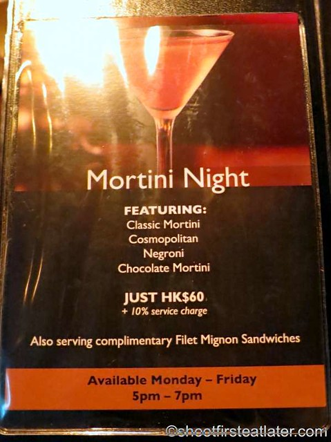 Happy Hour at Morton's HK-003