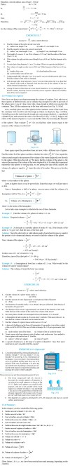 NCERT Class IX Maths Chapter 13 Surface Areas and Volumes