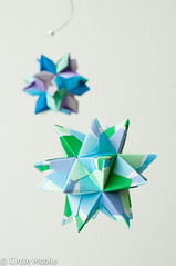 Snowflake Mobile: Medium Star