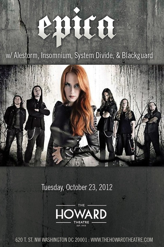 Epica at the Howard Theatre