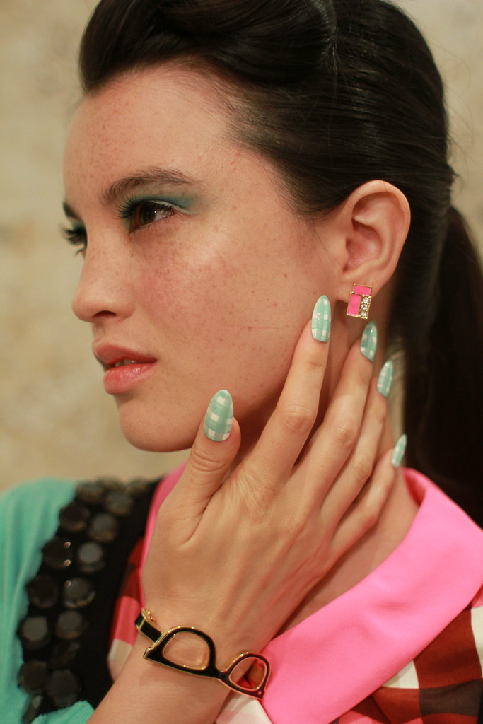 KATE SPADE S-S 2013 BACKSTAGE 008