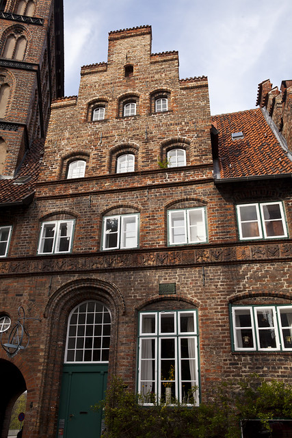 Lubeck, Germany, brick