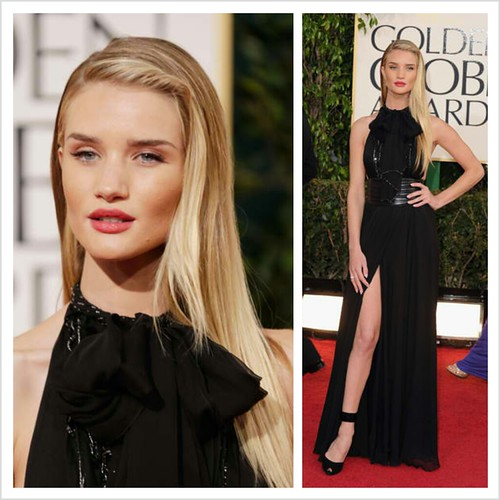 Rosie Huntington Whitley in Yves Saint Laurent