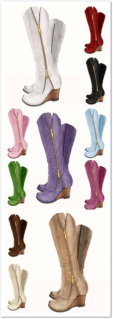 Vanity Boots - All Colors