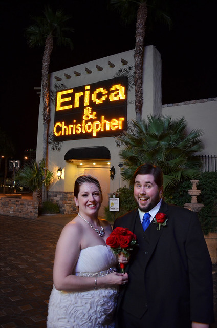 Vegas Wedding: Erica and Chris