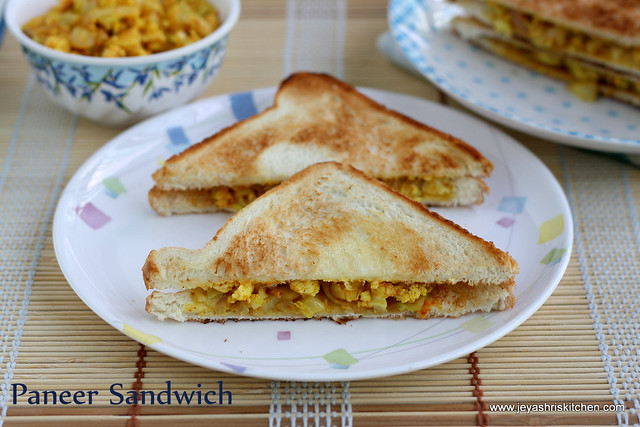 Paneer- Sandwich