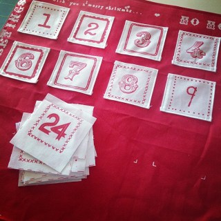 Advent calendar in the making...