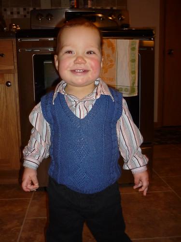 Caleb on Christmas Eve