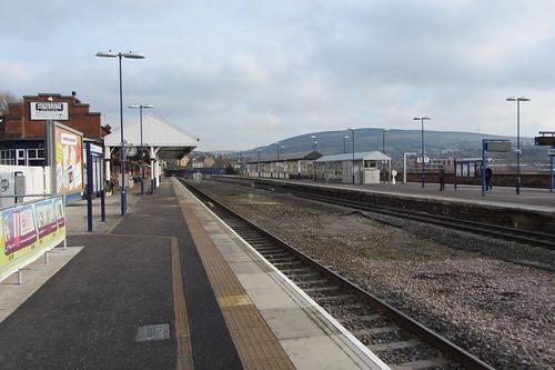 Stalybridge Station towards Yorkshire