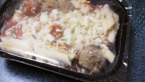 baked ziti and meatballs frozen