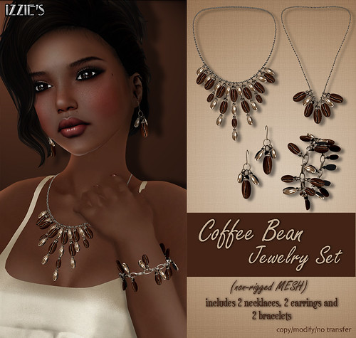 Coffee Bean Jewelry Set (FAIR)