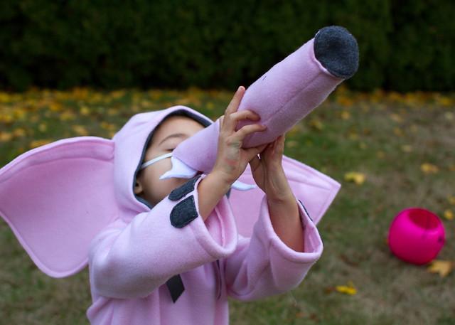 pink elephant costume