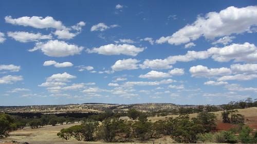 australia skies