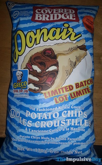 Covered Bridge Limited Batch Greco Donair Potato Chips