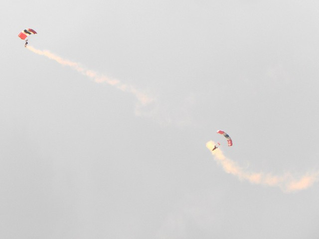The Red Devils, The British Army's Parachute Regiment's parachute display team