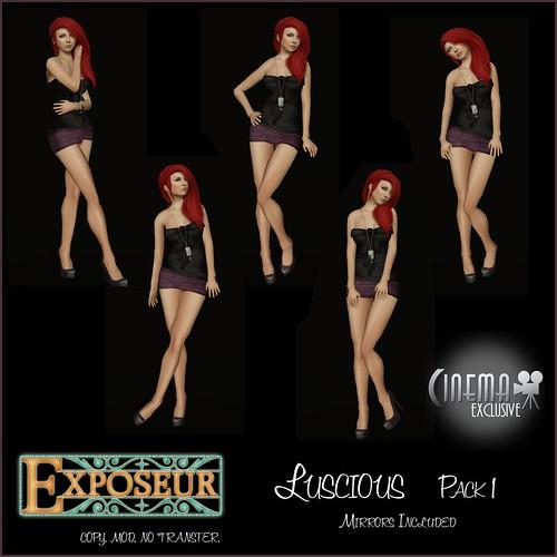 Cinema Exclusive - Luscious Pack 1