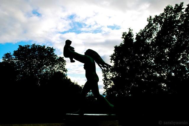 vigeland park, norway, frogner park, oslo, Gustav Vigeland, sculpture park,