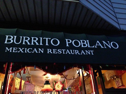 Burrito Poblano Signage