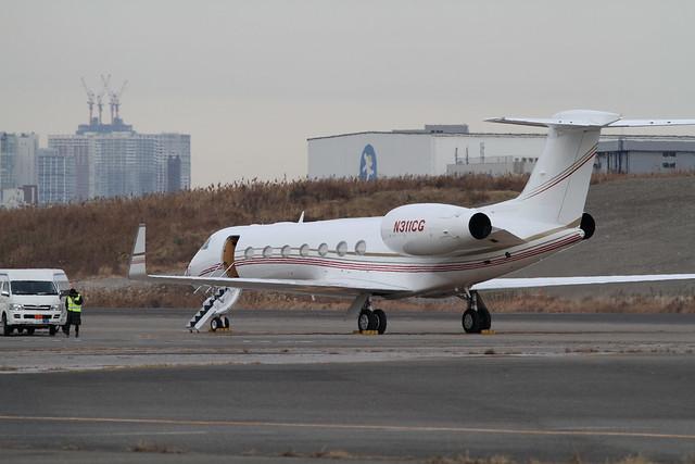 Gulfstream G550(N311CG)