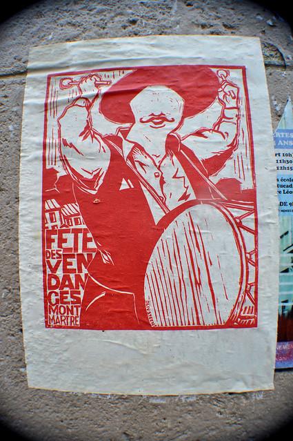 Fête des vendanges Montmartre Oliv Steen