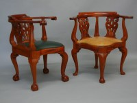 Goddard Townsend Corner Chair Antique Reproductions by ...