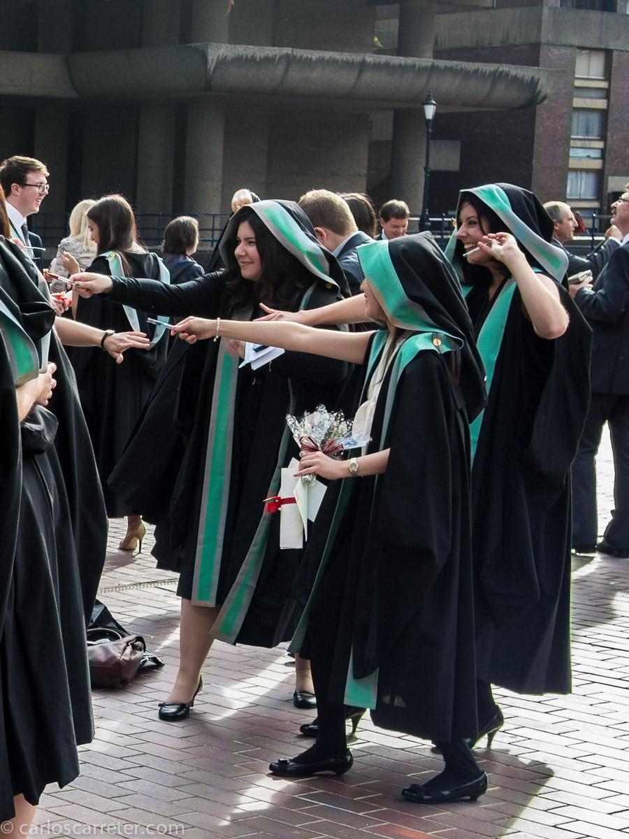 Graduadas del King's College